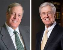 The Koch Brothers – photo courtesy of allvoices.com