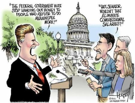 congressional salaries