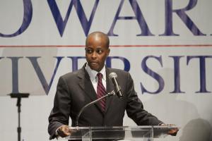 Howard University President Wayne A.I. Frederick