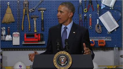 President Barack Obama (photo via newsone.com)