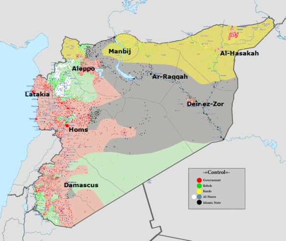 Syrian_civil_war August 2016