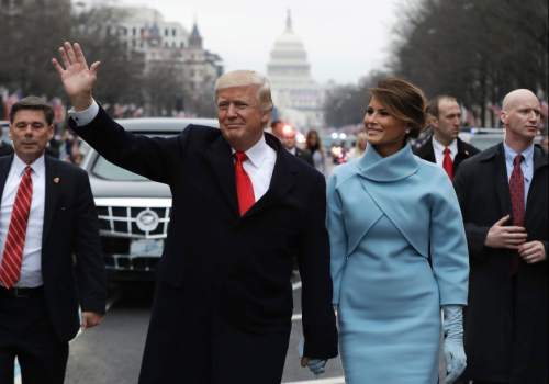 the-trumps-on-inauguration-day